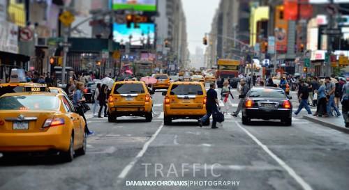 Manhattan Traffic Jigsaw Puzzle