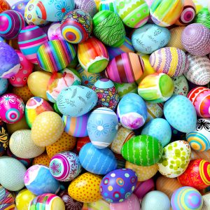 Many Easter Eggs Jigsaw Puzzle