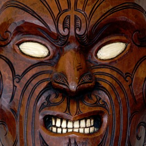 Maorie Mask Jigsaw Puzzle