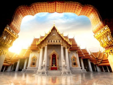 Marble Temple Jigsaw Puzzle