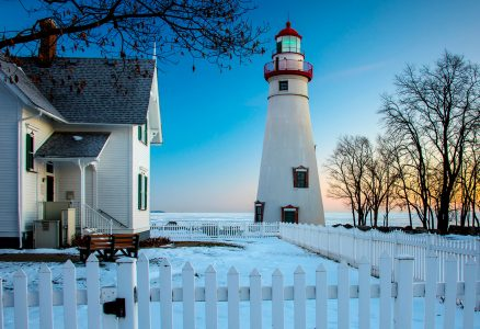 Marblehead Winter Jigsaw Puzzle