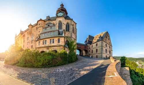 Marburg Castle Jigsaw Puzzle