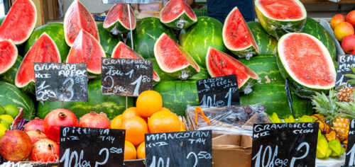 Market Melons Jigsaw Puzzle