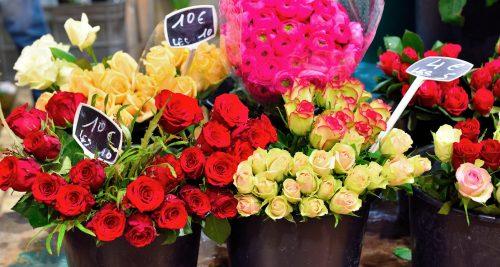 Market Roses Jigsaw Puzzle