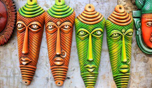 Masks of India Jigsaw Puzzle