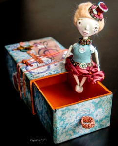 Matchbox Doll Jigsaw Puzzle
