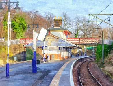 Maxwell Park Station Jigsaw Puzzle