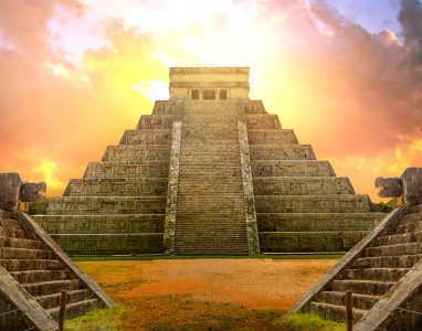 Mayan Temple Jigsaw Puzzle