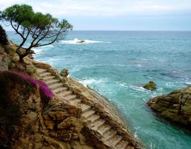 Mediterranean Stairs Jigsaw Puzzle