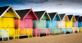 Mersea Beach Huts Jigsaw Puzzle