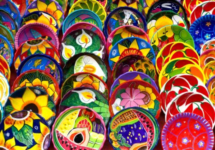 Mexican Bowls Jigsaw Puzzle