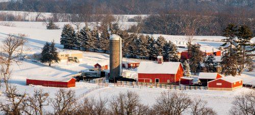 Mid-western Farm Jigsaw Puzzle