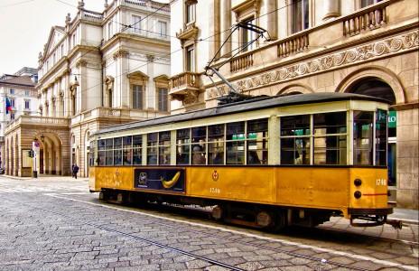 Milan Streetcar Jigsaw Puzzle
