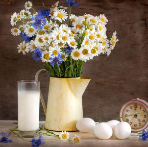 Milk and Eggs Jigsaw Puzzle