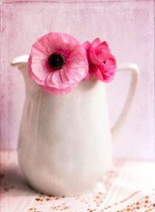 Milk Jug with Flowers Jigsaw Puzzle