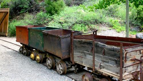 Mining Carts Jigsaw Puzzle