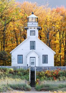 Mission Point Lighthouse Jigsaw Puzzle