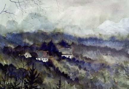 Misty Hills Jigsaw Puzzle