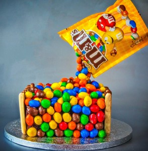 M&Ms Cake Jigsaw Puzzle