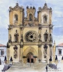 Monastery Watercolor
