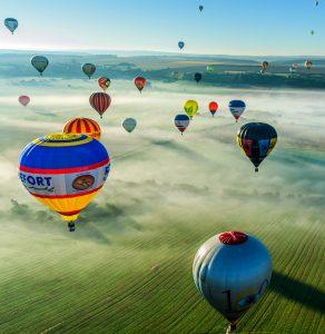 Mondial Balloon Festival Jigsaw Puzzle
