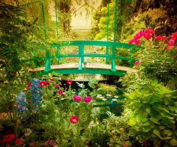 Monet Garden Jigsaw Puzzle