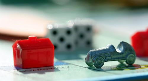 Monopoly Pieces Jigsaw Puzzle