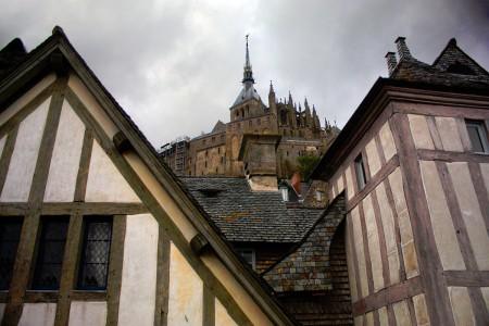Mont Saint-Michel Village Jigsaw Puzzle