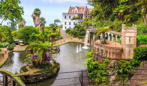Monte Palace and Garden Jigsaw Puzzle