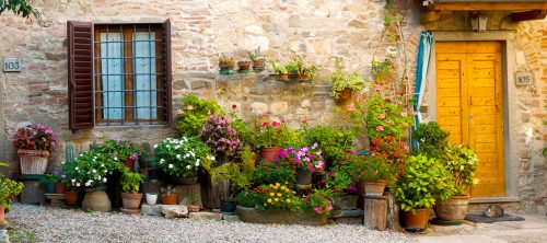 Montefioralle Flowers Jigsaw Puzzle
