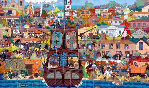 Monterey Mural Jigsaw Puzzle