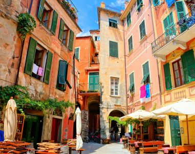 Monterosso Cafe Jigsaw Puzzle