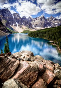 Moraine Lake Jigsaw Puzzle