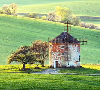Moravia Windmill Jigsaw Puzzle