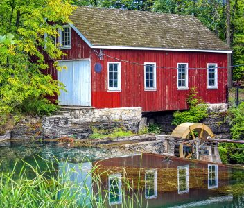 Morningstar Mill Jigsaw Puzzle