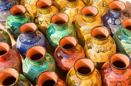 Morocco Pots Jigsaw Puzzle