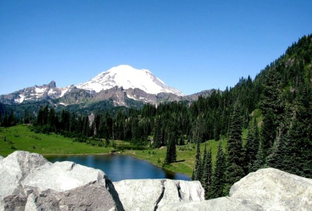 Mount Rainier Jigsaw Puzzle