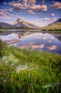 Mount Rundle Jigsaw Puzzle