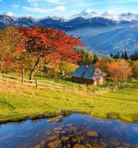 Mountain Cottage Jigsaw Puzzle