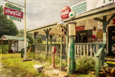 Mountain Junction Store Jigsaw Puzzle