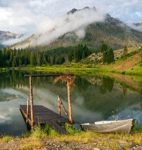 Mountain Pond Jigsaw Puzzle