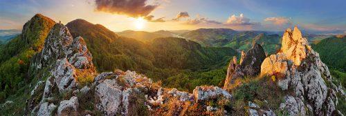 Mountain Sunset Jigsaw Puzzle