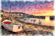 Mousehole boats Jigsaw Puzzle