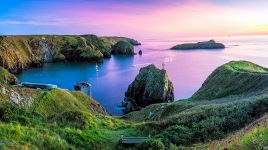 Mullion Cove Sunset