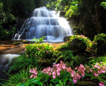 Mun Dang Waterfall Jigsaw Puzzle