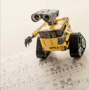 Musical WALL-E Jigsaw Puzzle