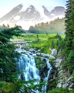 Myrtle Falls Jigsaw Puzzle