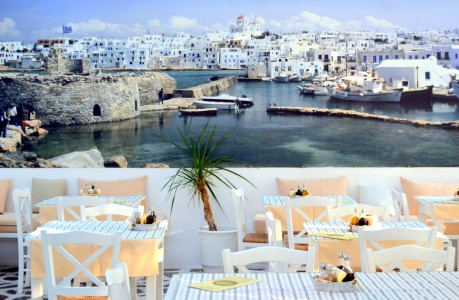 Naoussa Harbor Jigsaw Puzzle