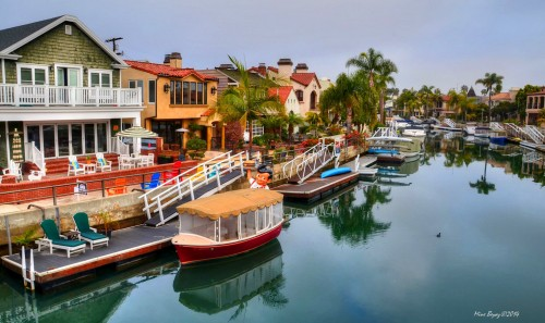 Naples Canal Jigsaw Puzzle