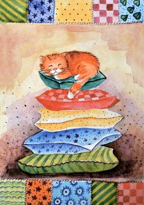 Napping Kitten Jigsaw Puzzle